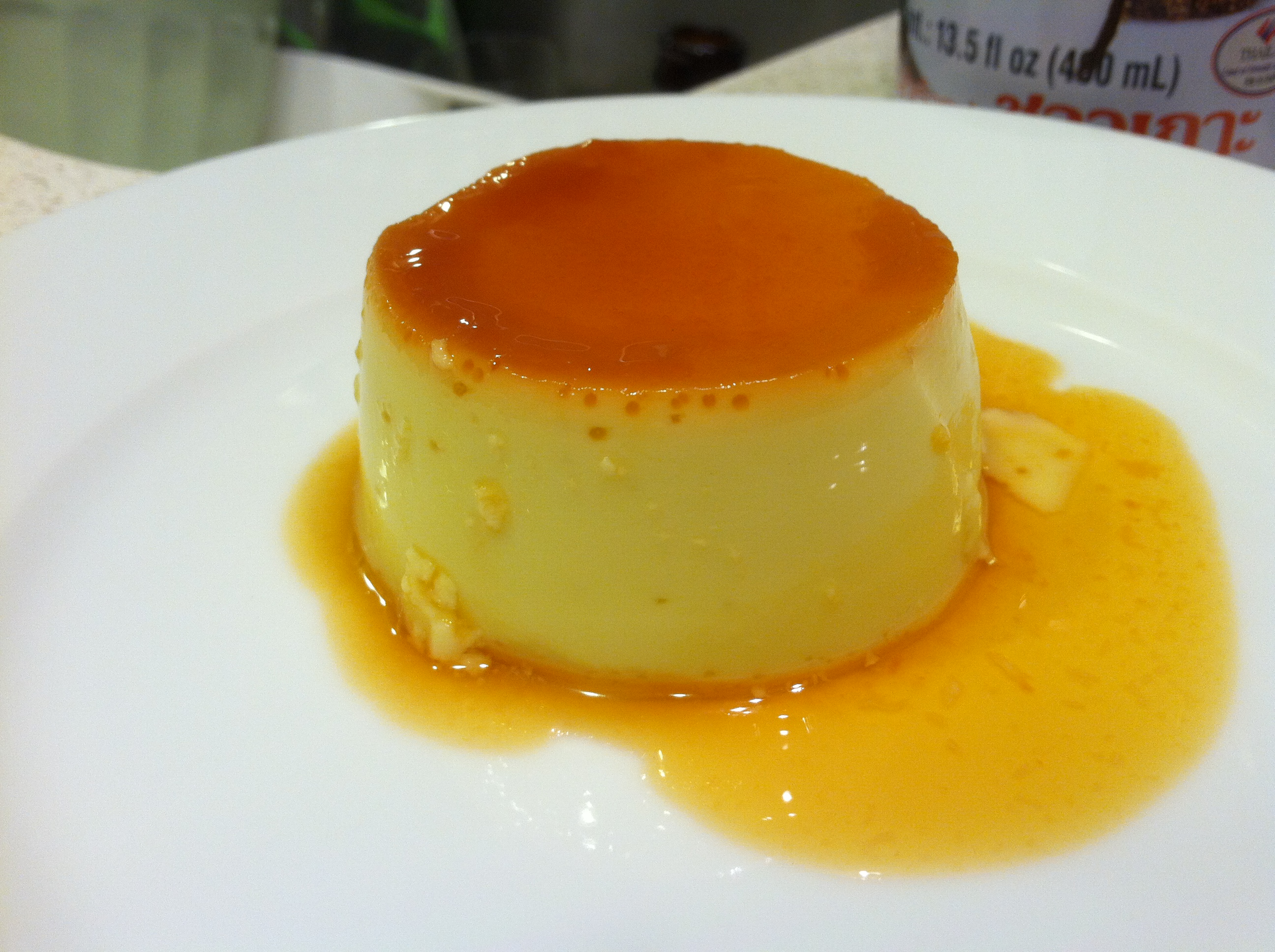 Coconut Flan: It Jiggles! | the Go Bunny Books blog